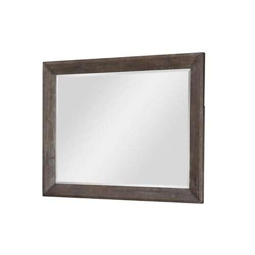 Facets Landscape Mirror