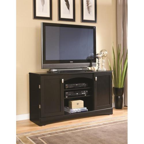 "Kith Furniture - 54"" Black Entertainment Console"