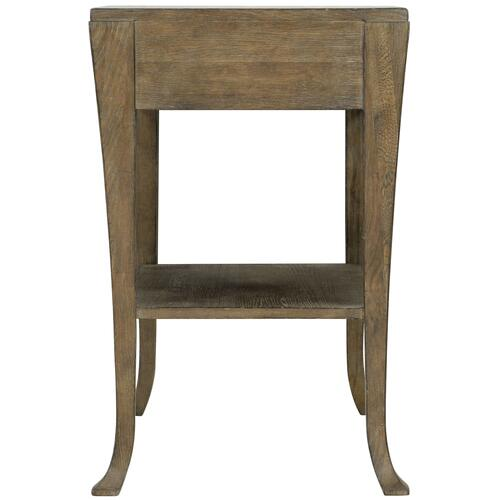 Rustic Patina Nightstand in Peppercorn (387)