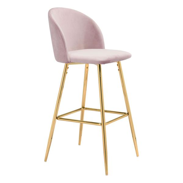 See Details - Cozy Bar Chair Pink