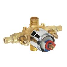 Rough Brass While Supplies Last - Gerber Plus® Pressure Balance Valve W/ Washerless Cartridge - Pex-a Gerber Pak