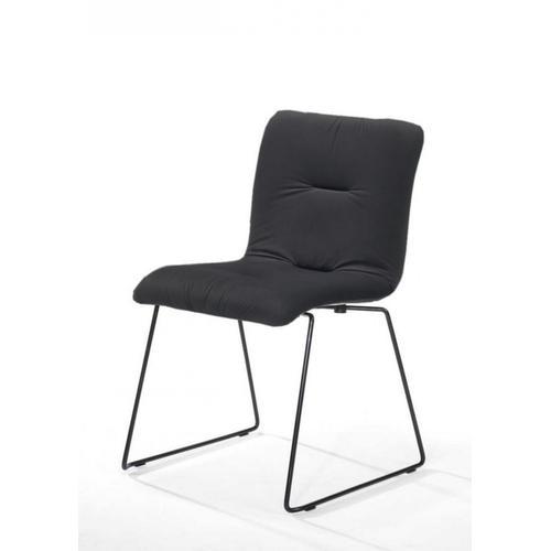 VIG Furniture - Modrest Yannis - Modern Dark Grey Fabric Dining Chair (Set of 2)