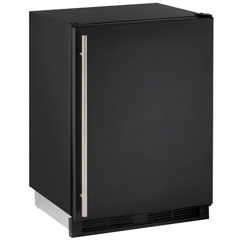"1224fzr 24"" Convertible Freezer With Black Solid Finish (115 V/60 Hz Volts /60 Hz Hz)"