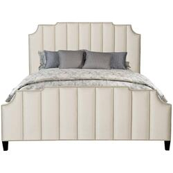 California King-Sized Bayonne Upholstered Bed in Espresso