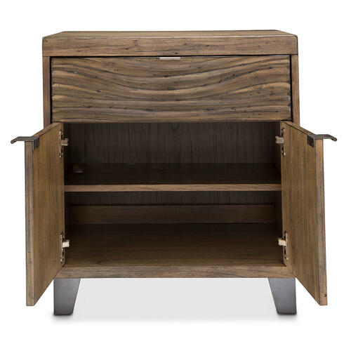 2-door Accent Cabinet-night Stand-end Table 1 Drawer