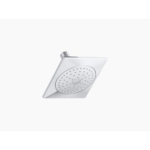 Matte Black 2.5 Gpm Single-function Showerhead With Katalyst Air-induction Technology