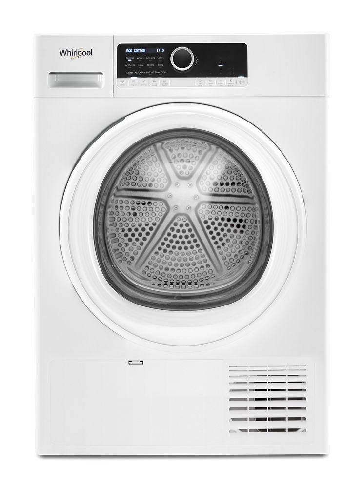"Whirlpool4.3 Cu. Ft. 24"" Small Space Ventless Dryer"