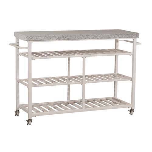 Gallery - Kennon Kitchen Cart - Granite Top