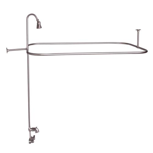 "Rectangular Shower Unit with Code Spout - Oil Rubbed Bronze / 54"" x 24"""