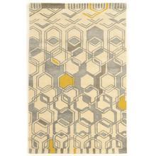 See Details - Aspire Wool Geo Ivory/grey 2x3