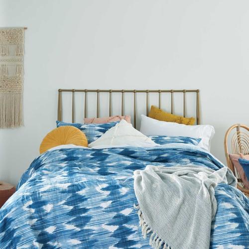 Dreamscape Dsc02 Navy King 3-piece Bed Set