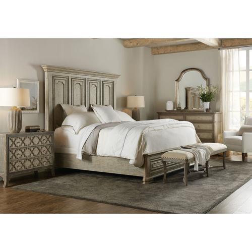 Bedroom Alfresco Leonardo King Mansion Bed