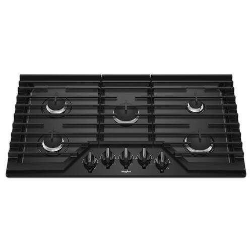 Gallery - 36-inch Gas Cooktop with EZ-2-Lift Hinged Cast-Iron Grates