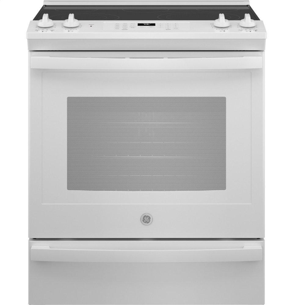 "GE30"" Slide-In Electric Convection Range With No Preheat Air Fry"