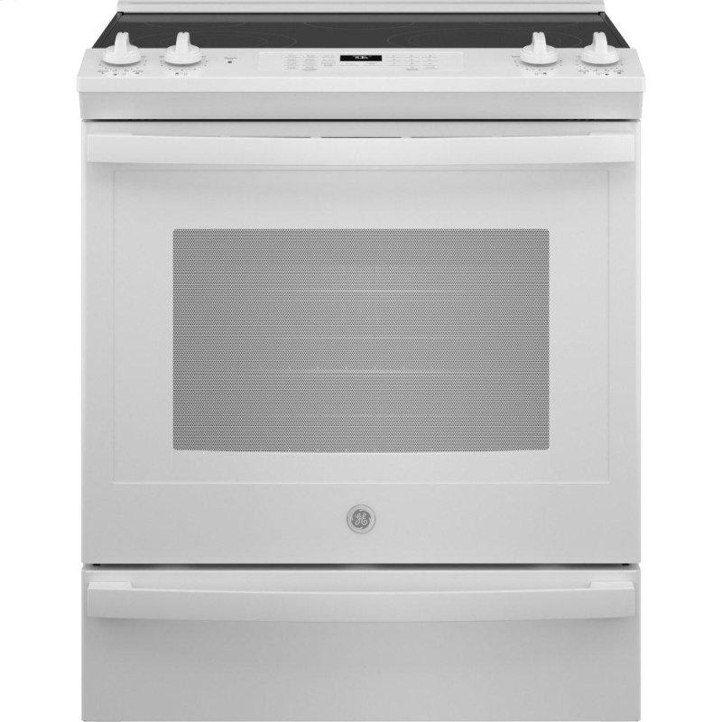"30"" Slide-In Electric Convection Range with No Preheat Air Fry"