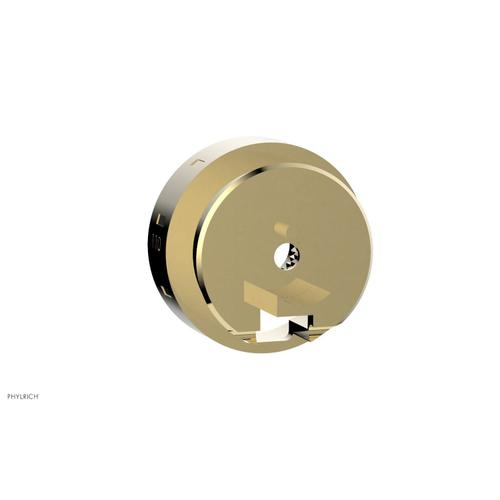 Replacement Handle for Temperature Control - P20014 - Polished Brass Uncoated