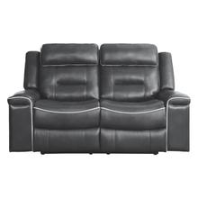 See Details - Double Lay Flat Reclining Love Seat