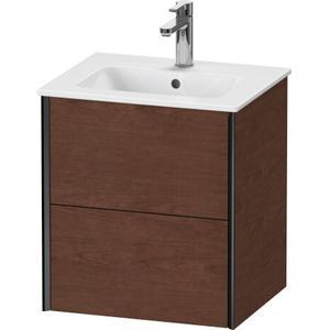 Duravit - Vanity Unit Wall-mounted, American Walnut (real Wood Veneer)