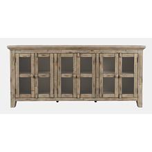 See Details - Rustic Shores 6 Door Low Cabinet