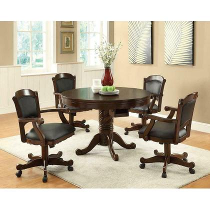 See Details - Casual Tobacco Turk Game Table