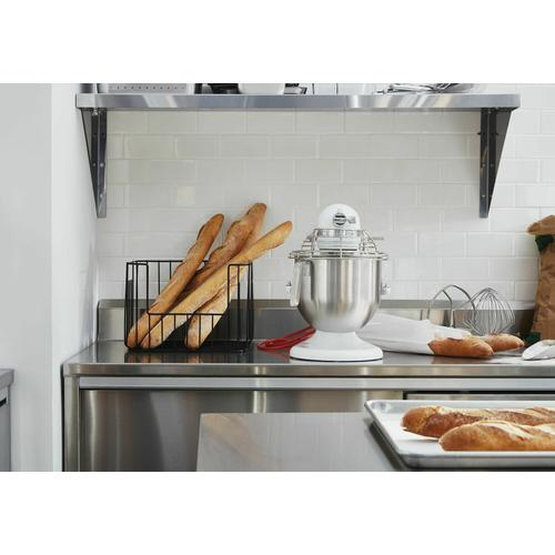 KitchenAid Canada - NSF Certified® Commercial Series 8-Qt Bowl Lift Stand Mixer with Stainless Steel Bowl Guard - White