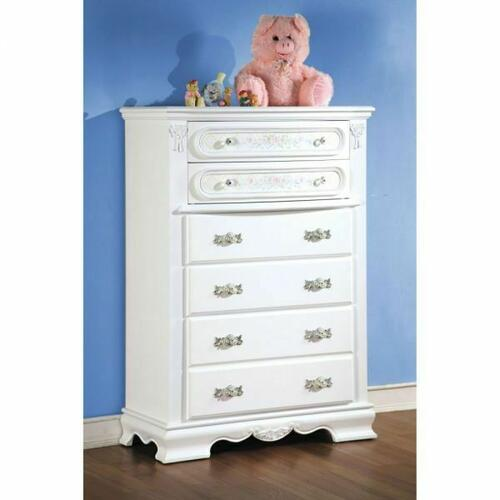ACME Flora Chest - 01666 - White
