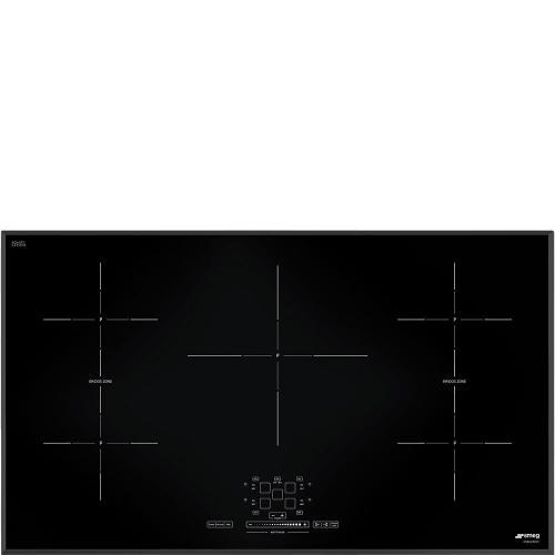 Smeg - Cooktop Black SIMU536B