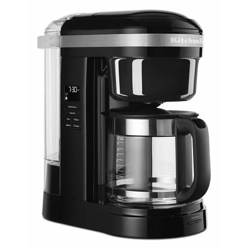 KitchenAid - 12 Cup Drip Coffee Maker with Spiral Showerhead - Onyx Black