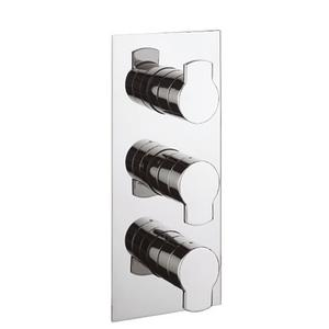 Wisp 2000 Thermostatic Valve Trim with Two Integrated Volume Controls - Phase out - Polished Nickel