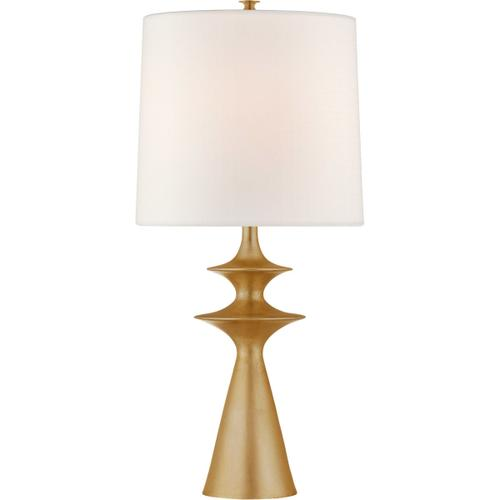 AERIN Lakmos 31 inch 100 watt Gild Table Lamp Portable Light, Large