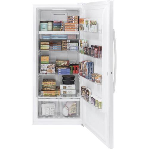 GE Appliances - GE® 21.3 Cu. Ft. Frost-Free Garage Ready Upright Freezer