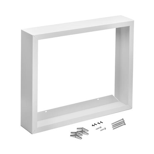 Broan® Surface Mount Kit for High Capacity Wall Heaters, White Enameled Steel