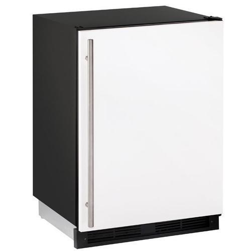 "1224rf 24"" Refrigerator/freezer With White Solid Finish (115 V/60 Hz Volts /60 Hz Hz)"