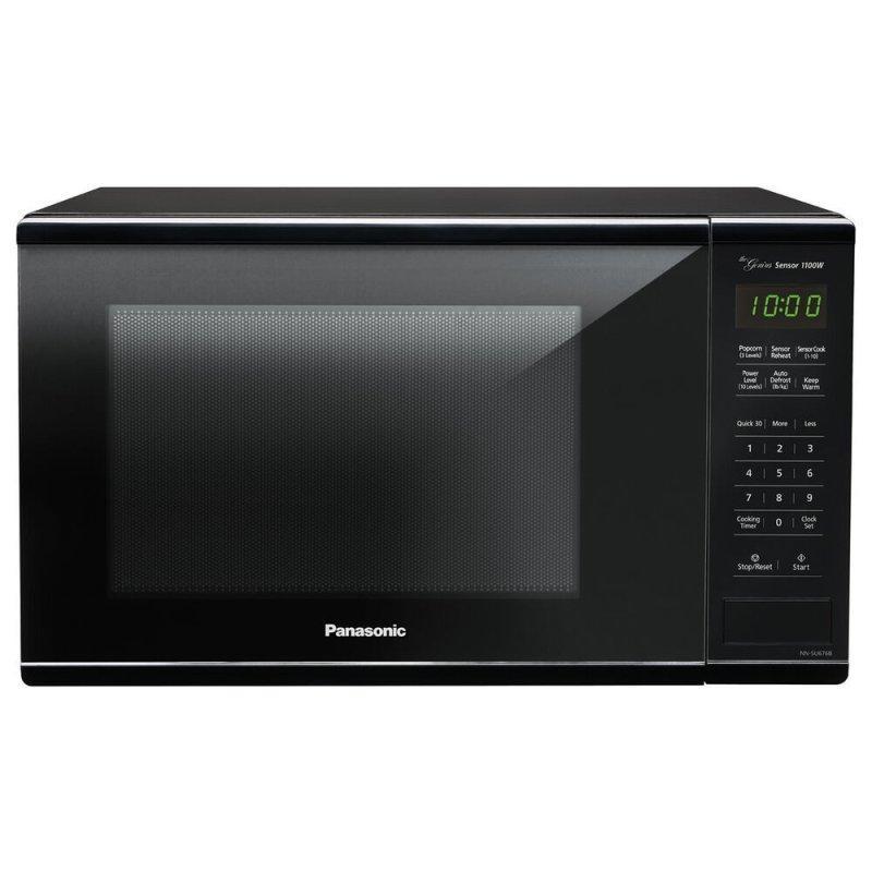 1.3 Cu. Ft. 1100W Countertop Microwave Oven - Black - NN-SU676B