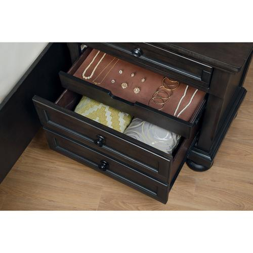 Homelegance - Night Stand with Hidden Drawer