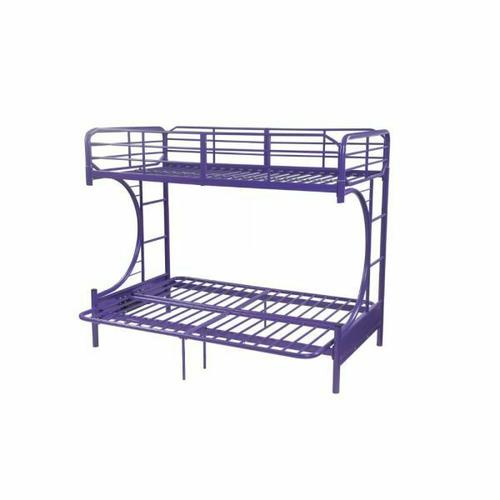 ACME Eclipse Twin/Full/Futon Bunk Bed - 02081PU - Purple
