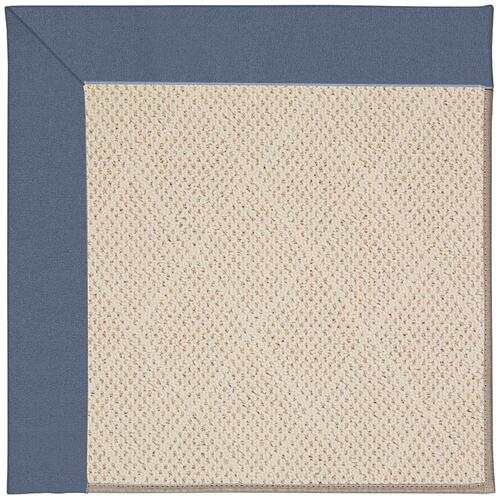 Creative Concepts-White Wicker Canvas Sapphire Blu Machine Tufted Rugs