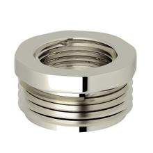 "Polished Nickel Perrin & Rowe 3/4""M X 1/2""F Adaptor"