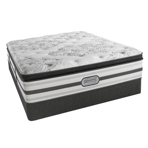 Beautyrest - Platinum - Hybrid - Cinnamon - Plush - Pillowtop - King