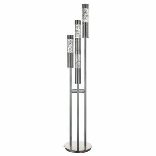 ACME Claus Floor Lamp - 40161 - Brushed Nickel