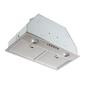 Broan® 20-1/2-Inch Custom Range Hood Power Pack, Stainless Steel, 500 CFM