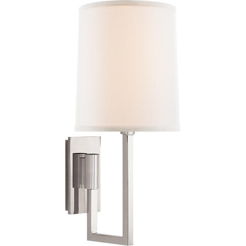 Barbara Barry Aspect 1 Light 6 inch Polished Nickel Decorative Wall Light