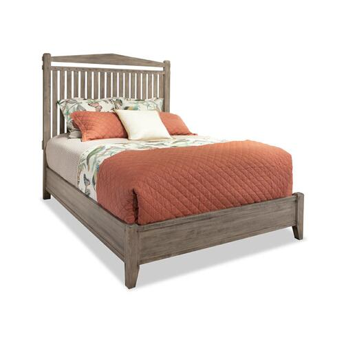 Durham Furniture - Queen Slat Bed