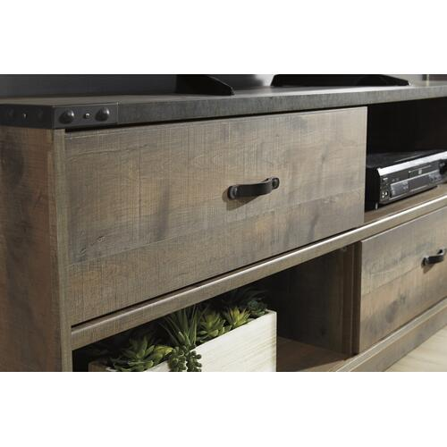 Trinell Large TV Stand Brown