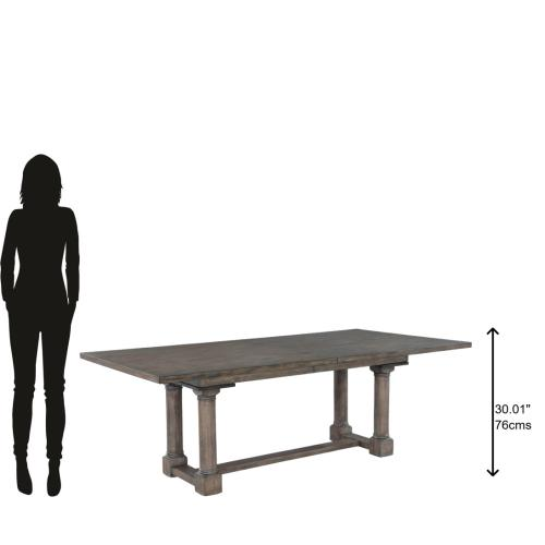 Hekman - 2-3520 Lincoln Park Trestle Dining Table