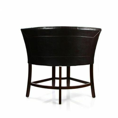 ACME Bravo Counter Height Corner Chair - 07253 - PU & Espresso