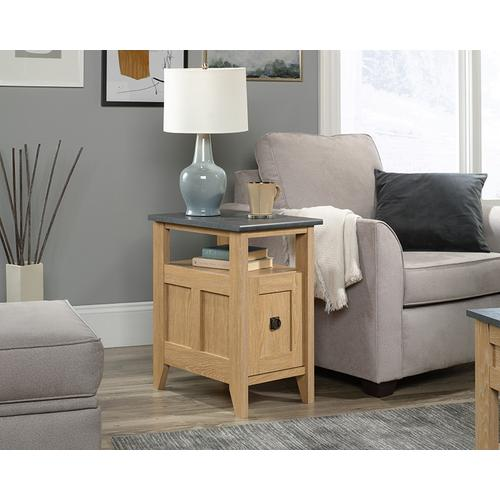 Sauder - Side Table with Drawer & Open Shelf