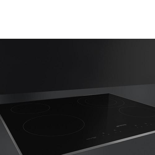 Smeg - Cooktop Black SEU244ETB