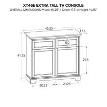 XT46E Extra Tall Custom TV Console