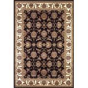 """Cambridge 7313 Black/ivory Kashan 7'7"""" Round Product Image"""